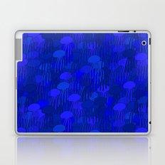 Jellyfish Blue Laptop & iPad Skin