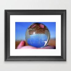 Inversion 2 Framed Art Print