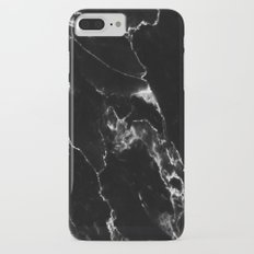 Black Marble I Slim Case iPhone 7 Plus