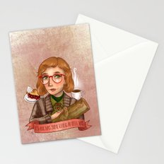Log Lady - My Log Has Something To Tell You Stationery Cards