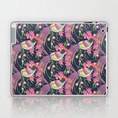 Paper Cut Birds [dark] Laptop & iPad Skin
