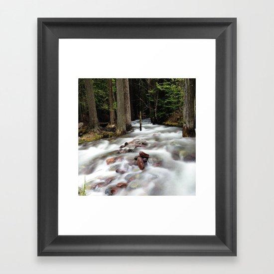 Run River, Run Framed Art Print