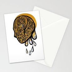 Drops fall Stationery Cards