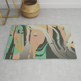 Abstract Marble 3 Rug