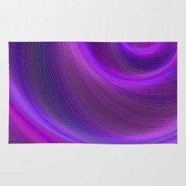 Purple night storm Rug