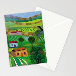 Santa Barbara Wine and Cheese Stationery Cards