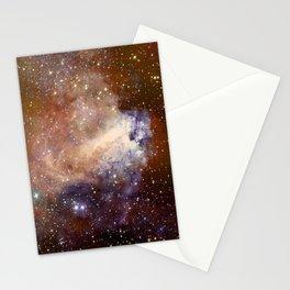 Deep-space nebula Stationery Cards