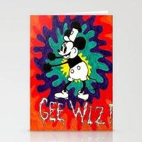 wiz khalifa Stationery Cards featuring GEE WIZ! by TheFrizzKid