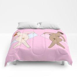 Happy Towel Duo - Pink Comforters