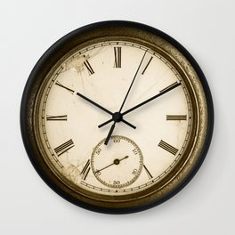 Antique Pocket Watch Wall Clock