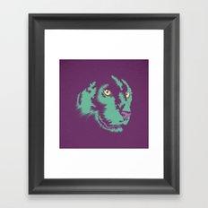 Panther Alt Framed Art Print