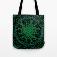 matrix Tote Bags featuring The Matrix by Mr. Pattern Man