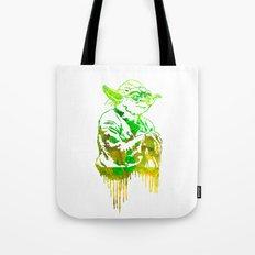 Yoda Print Tote Bag