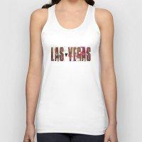 las vegas Tank Tops featuring Las Vegas by Tonya Doughty