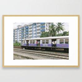 MUMBAI SUBWAY Framed Art Print