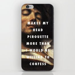 Wounded Animals iPhone Skin