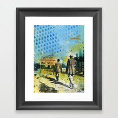 Native Framed Art Print