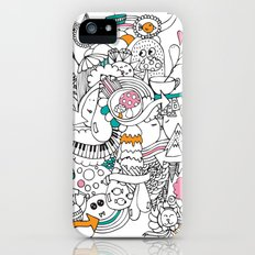 My Happy Doodle iPhone (5, 5s) Slim Case