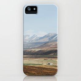 Icelandic Farm Country iPhone Case