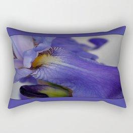 zebra iris 'tongue' Rectangular Pillow