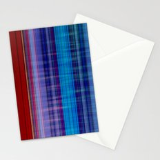 Red, Blue & Violett Stationery Cards