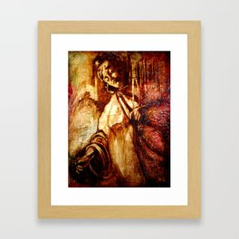 Veils of Morning Framed Art Print