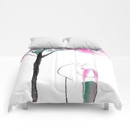 The kiss Comforters