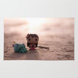 Lilo And Scrump Sunset Rug