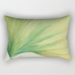 Ginko Leaf Rectangular Pillow