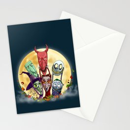 Trick or Treat - Lock, Shock, and Barrel  Stationery Cards