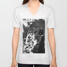 Black Cat Storm Unisex V-Neck
