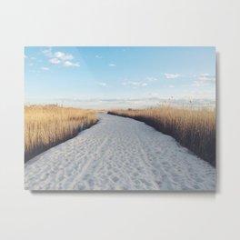 JONES BEACH | NEW YORK Metal Print