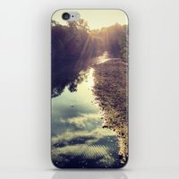 river iPhone & iPod Skins featuring River by Spencer Martin