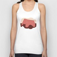 eames Tank Tops featuring Eames Elephant by Ruby