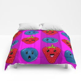 Fruit Faces Comforters