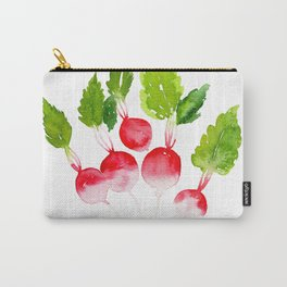 Garden Party - Radishes Carry-All Pouch