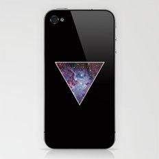 Galaxy Triangle Print iPhone & iPod Skin