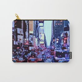 Through the streets of New York City Carry-All Pouch