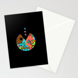 Pac-80s Stationery Cards