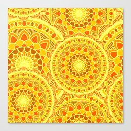 sun flower summer Canvas Print