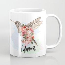 Hummingbird and roses. Romantic design Coffee Mug