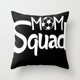 Mom Squad Throw Pillow