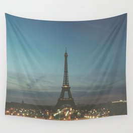 EIFFEL - TOWER - CITY OF PARIS Wall Tapestry