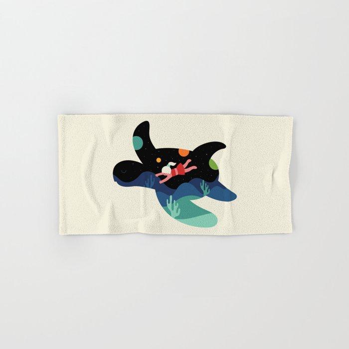 Ocean Roaming Hand & Bath Towel