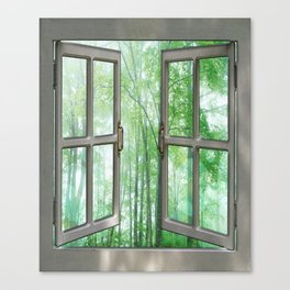 WINDOW TO NATURE Canvas Print