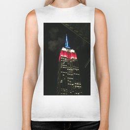 NYC Skyline: Empire State Building Biker Tank