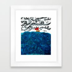 Elemental Duo: Water & Air Framed Art Print