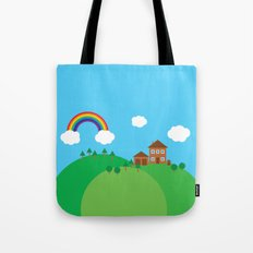 We Love This Place Tote Bag