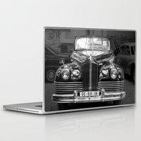 car Laptop & iPad Skins featuring Vintage car by Veronika