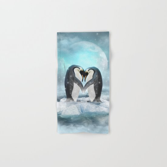 Listen Hard (Penguin Dreams) Hand & Bath Towel